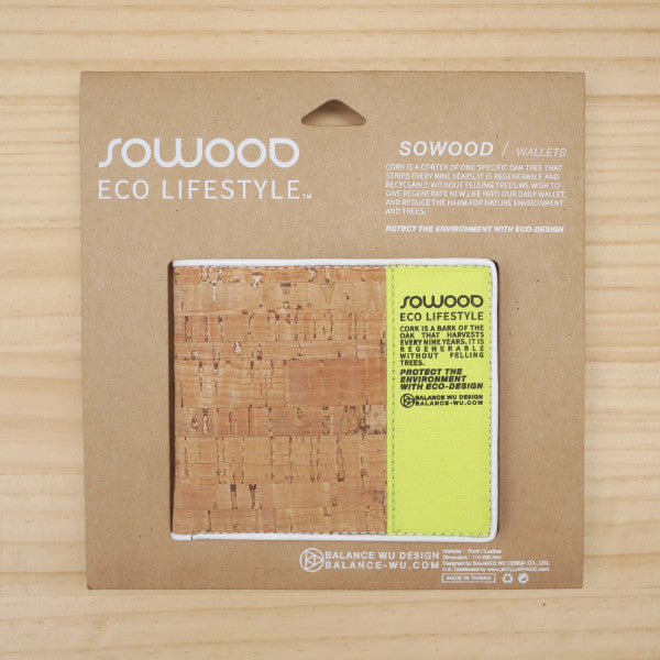 SOWOOD - Cork Wallet - Fresh Colony  - 3