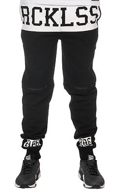 Young and Reckless Divided Fleece Joggers - Fresh Colony  - 3