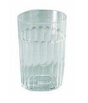 Arrow Plastic 00115 Clear Plastic Tumbler - Fresh Colony