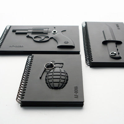 MOLLA SPACE - ARMED NOTEBOOK REVOLVER - Fresh Colony  - 2