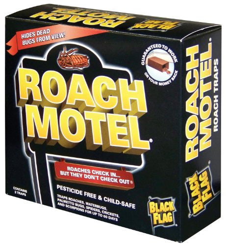 BLK FLG ROACH MOTEL - Fresh Colony