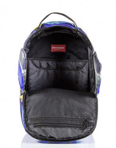 SPRAYGROUND - VERTICAL DOORS BACKPACK BLUE - Fresh Colony  - 7