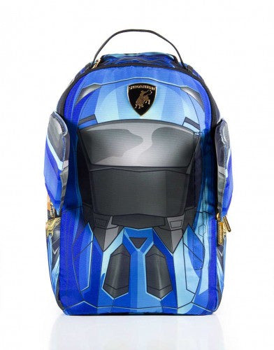 SPRAYGROUND - VERTICAL DOORS BACKPACK BLUE - Fresh Colony  - 2