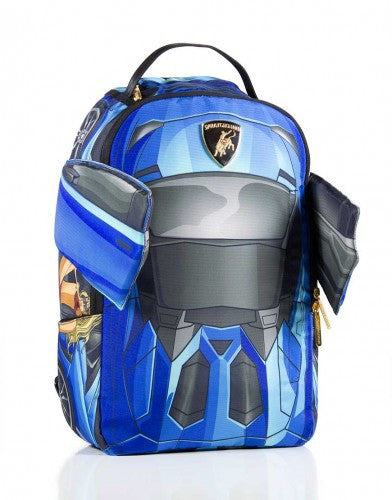 SPRAYGROUND - VERTICAL DOORS BACKPACK BLUE - Fresh Colony  - 1