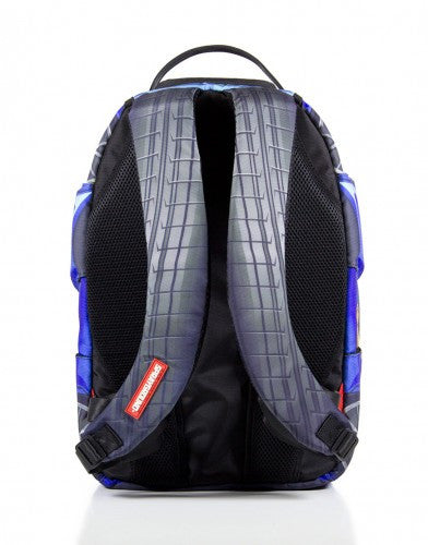 SPRAYGROUND - VERTICAL DOORS BACKPACK BLUE - Fresh Colony  - 3