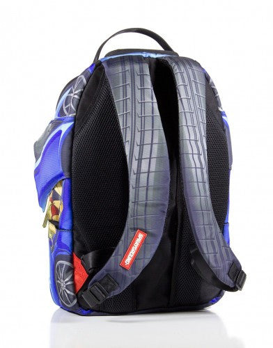 SPRAYGROUND - VERTICAL DOORS BACKPACK BLUE - Fresh Colony  - 4