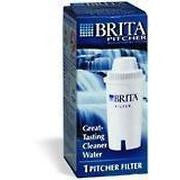 Brita Water Filter Pitcher Advanced Replacement Filter, 1 Count - Fresh Colony