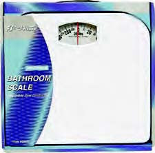 300lb Capacity Heavy Duty Steel Constructed Bathroom Scale - Fresh Colony