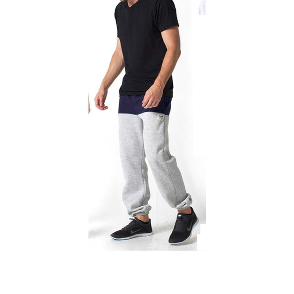 KENNEDY DENIM CO - COLOR BLOCK JETSETTER SWEATS (navy/h.grey) - Fresh Colony  - 1