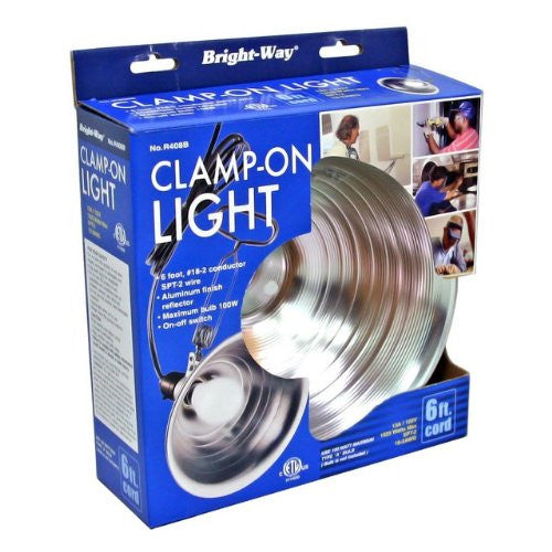 "Bright Way R408b 8.5"" Aluminum Clamp On Light - Fresh Colony"