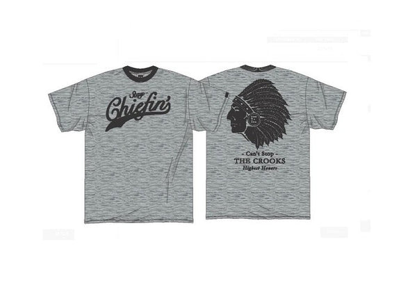 Crooks and Castles - Chiefin' T-shirt - Fresh Colony
