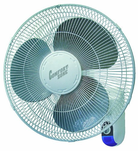 Comfort Zone CZ16WR Wall Mount Fan - Fresh Colony