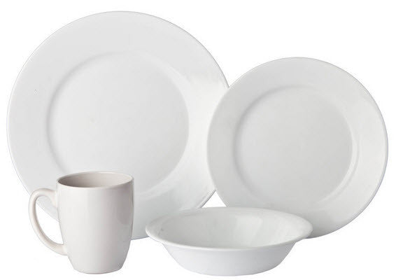 Corelle Vive 16-Piece Dinnerware Set Dazzling White Service for 4 - Fresh  sc 1 st  Fresh Colony & Tabletop tagged \