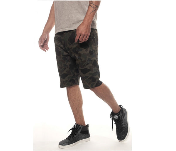 Kennedy Denim Co – Duck Camo 5 Pocket Shorts - Fresh Colony  - 1