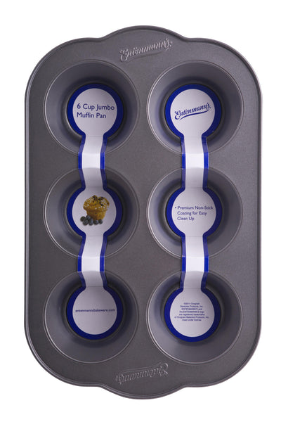 Entenmann's Bakeware Classic ENT19011 6-Cup Jumbo Muffin/Cupcake Pan - Fresh Colony