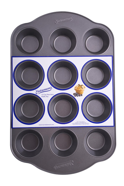 Entenmann's Bakeware Classic ENT19012 12-Cup Muffin/Cupcake Pan - Fresh Colony