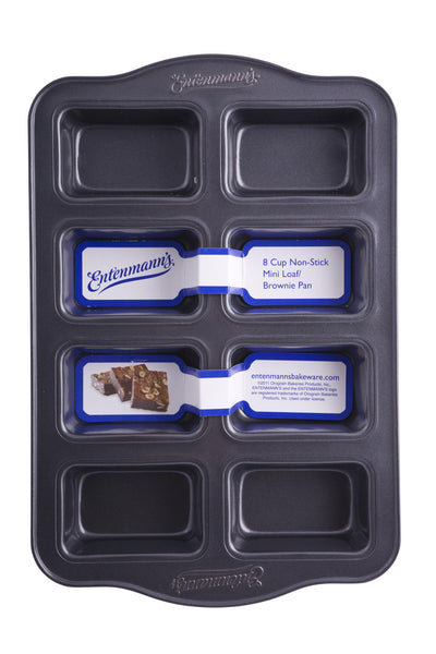 Entenmann's Classic 8 Cup Non-Stick Mini Loaf/Brownie Pan - Fresh Colony