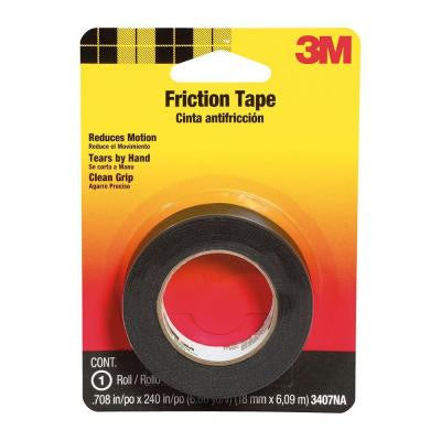 3M 3407NA Friction Tape, 0.708-Inch x 240-Inch - Fresh Colony