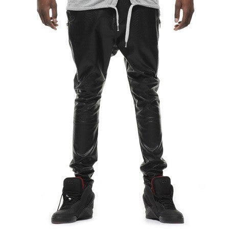 Black Kaviar - Greed Leather Pants - Fresh Colony  - 1