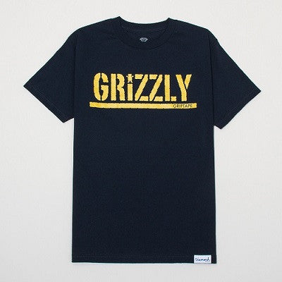 Diamond Supply Co - Grizzly Metallic Stamp T-Shirt - Fresh Colony