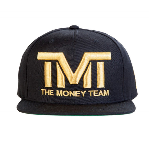 THE MONEY TEAM - COURTSIDE GOLD SNAPBACK HAT - Fresh Colony  - 1