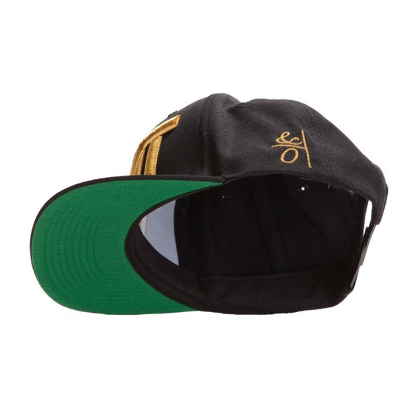 THE MONEY TEAM - COURTSIDE GOLD SNAPBACK HAT - Fresh Colony  - 5