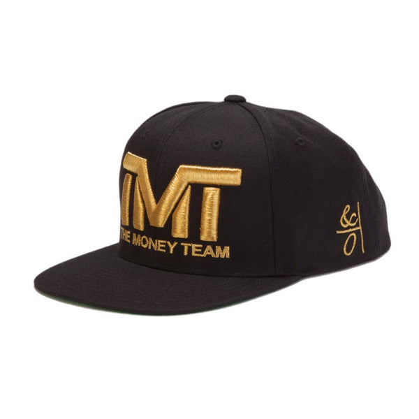THE MONEY TEAM - COURTSIDE GOLD SNAPBACK HAT - Fresh Colony  - 4