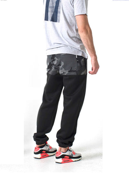 KENNEDY DENIM CO - CAMO BLOCK JETSETTER SWEATS (Umbra) - Fresh Colony