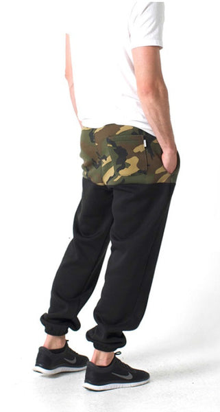 Kennedy Denim Co - Camo Block Jetsetter Sweats - Fresh Colony  - 1