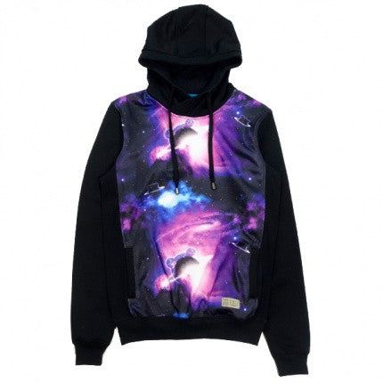 Entree LS - teddy galaxy hoodie - Fresh Colony  - 1