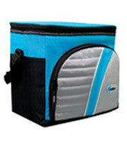 30 Can Soft Lunch Cooler with Thermal Insulated Liner (Black) - Fresh Colony