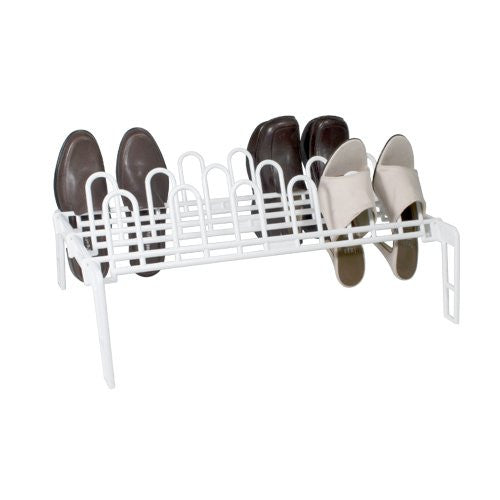 9 Pair Shoe Rack by Merrick - Special Buy! - Fresh Colony