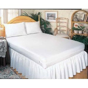 Carnation Home Fashions Twin Zippered Vinyl Mattress Cover - Fresh Colony