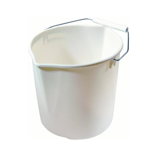 Rubbermaid FG2963TPBISQU Neat 'N Tidy Bucket, 11-Quart, Bisque - Fresh Colony