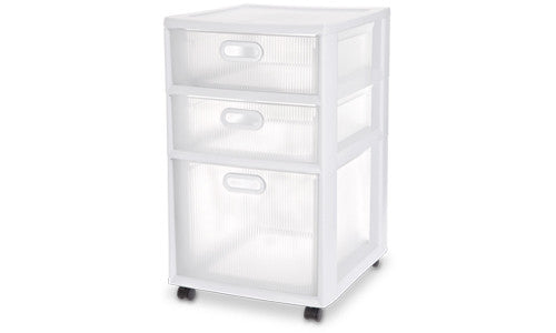 16 in. 3-Drawer Ultra Cart - Fresh Colony