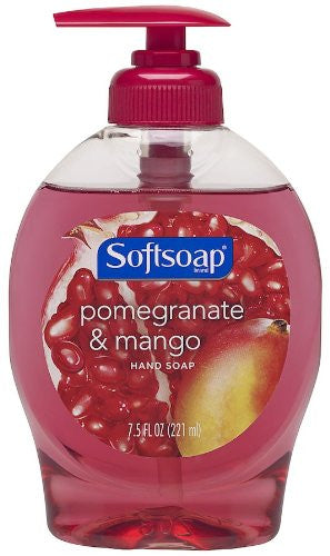 Softsoap Hand Soap, Pomegranate & Mango, 7.5oz - Fresh Colony