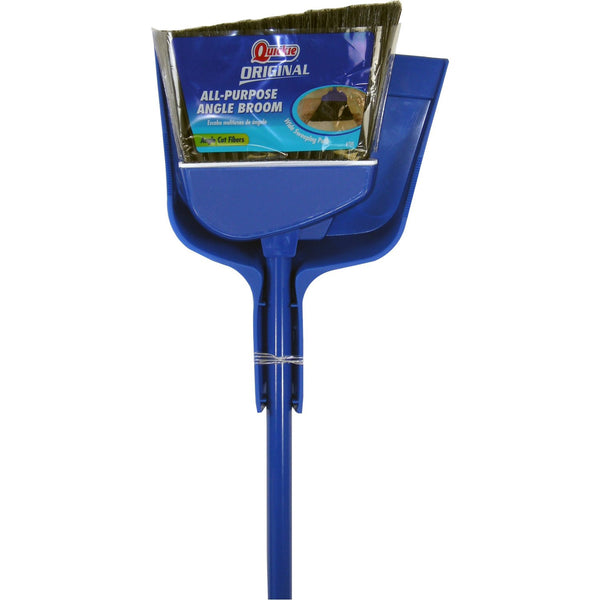 Quickie Angle Cut Broom and Dustpan - Fresh Colony