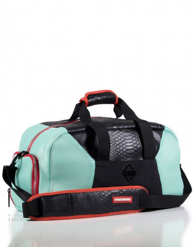 SPRAYGROUND - BLACK RETRO FUTURE CUT & SEW DUFFLE (YEEZY) - Fresh Colony  - 1