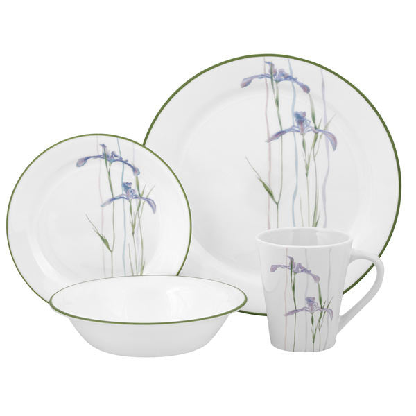 Corelle Impressions 16-Piece Dinner Set, Service for 4 - Fresh Colony