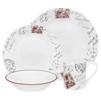 Corelle Impressions Sincerely Yours 16-pc Set - Fresh Colony