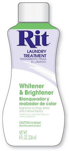 Rit Laundry Treatment Liquid 8 oz Fabric Whitener (3 Pack) - Fresh Colony