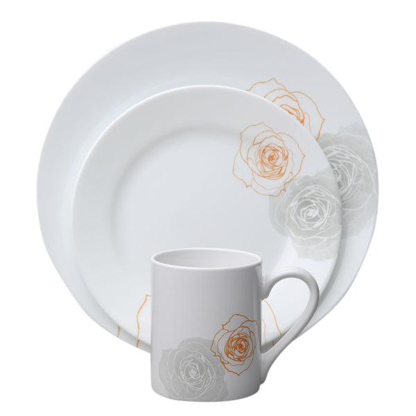 "Corelle Impressions"" Soleil Roses 16-pc. Dinnerwar - Fresh Colony"