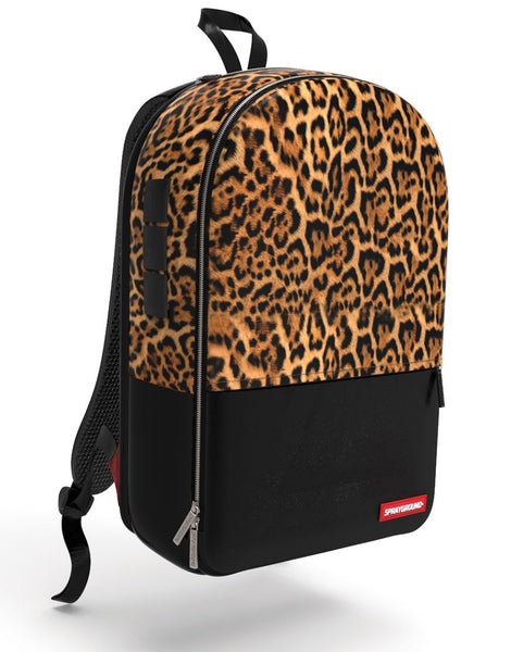 Sprayground - $TASHED MONEY LEOPARD POLYESTER BACKPACK - Fresh Colony  - 2