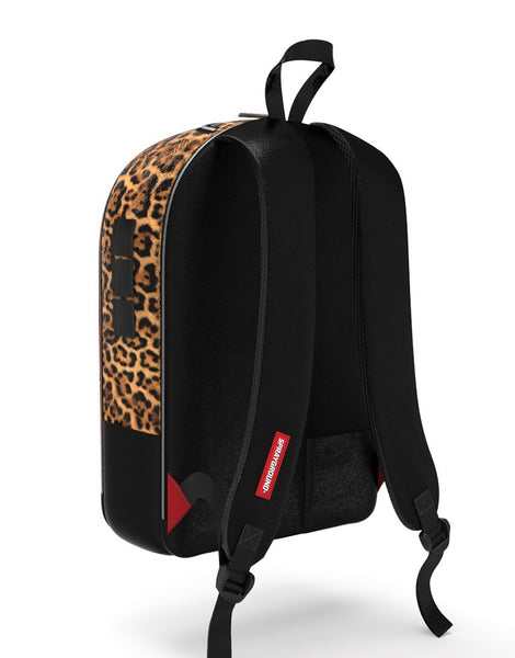 Sprayground - $TASHED MONEY LEOPARD POLYESTER BACKPACK - Fresh Colony  - 3