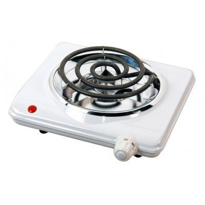 Brentwood Appliances TS-320 Electric Single Burner, 1000-Watt, White - Fresh Colony
