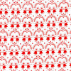 Westfalenstoffe ~ Flower Children Red on White - Billow Fabrics  - 2
