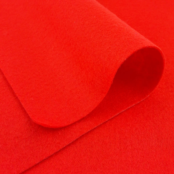 Woolfelt ~ Flame Red