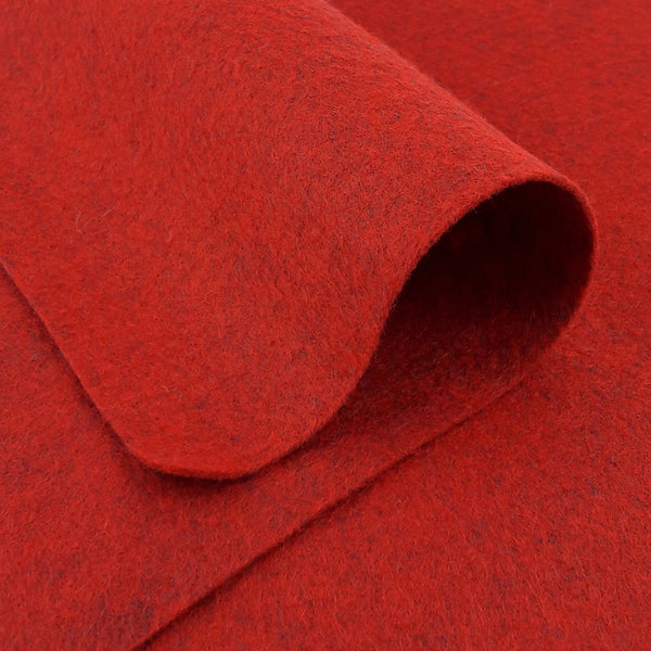 Wool Felt ~ Barnyard Red
