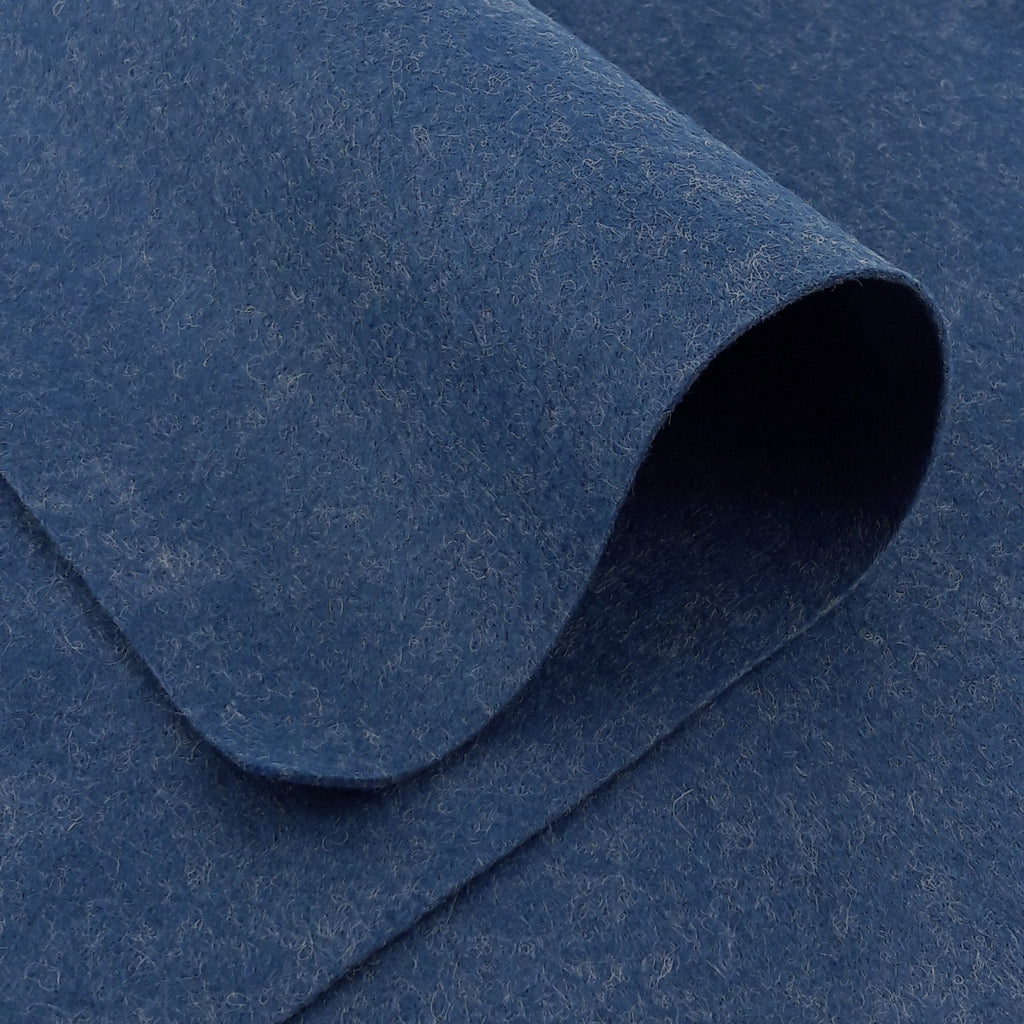 Wool Felt ~ Denim Blue