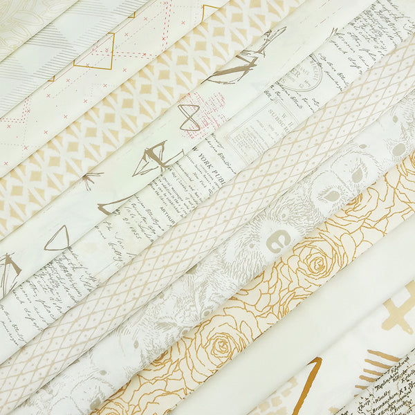 Winter Wheat Fabric Pack ~ SCRAPS